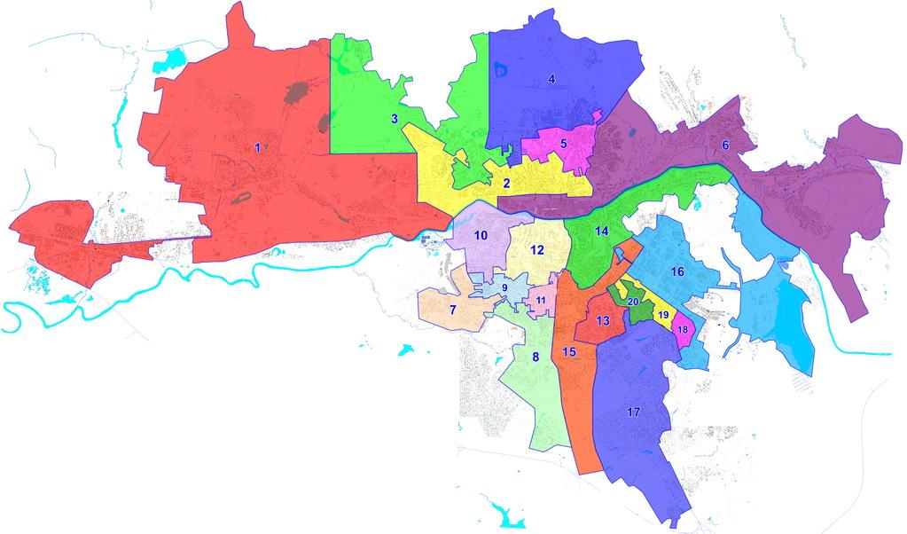 В Смоленске изменилась схема избирательных округов | Газета